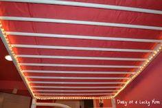 lighting for above the bottom bunk