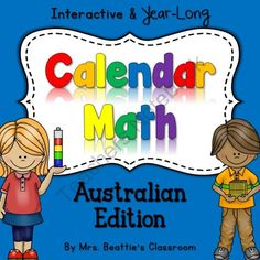 The Ultimate Interactive SMART Board Calendar Math - Australian Edition from Mrs. Beattie's Classroom on TeachersNotebook.com -  (41 pages)  - The Ultimate Interactive SMART Board Calendar Math - Australian Edition