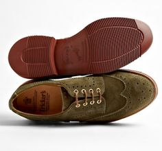 Lovely suede oxfords