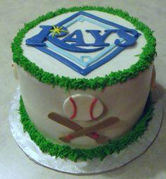 Tampa Bay Rays cake!