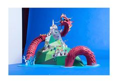 Paper Dragon on Behance