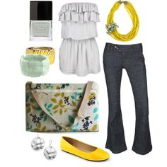 walking on sunshine, created by htotheb on Polyvore
