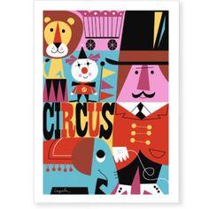 Image of Circus print * Ingela P Arrhenius