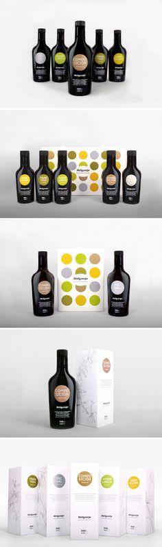 Melgarejo olive oil packaging