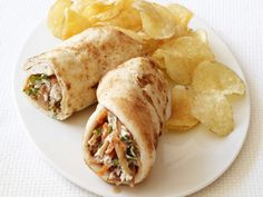 Indian Chicken Wrap from #FNmag #myplate #protein #grains