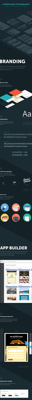 Socialpuzzle - Tool and Website Presentation by Degordian, via Behance
