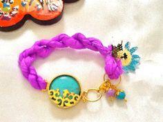 SALE GYPSY'S WEDDING Bracelet Turkish Silk Bracelet22k by Nezihe1