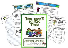 Free activities for Earth Day centered around The Great Kapok Tree