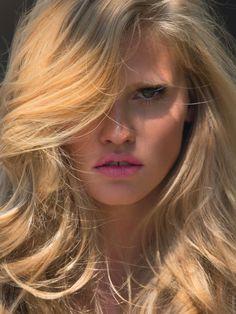 Lara Stone for Elle France June 2014