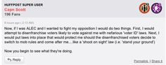 """if I was ALEC and I wanted to fight my opposition I would do two things"" take away the voting rights of people who would likely oppose me and then legalize killing them just in case of an uprising."