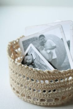 Handmade Crochet Mini Basket