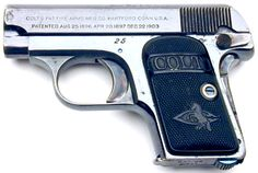 Colt 1908 Vest Pocket Hammerless .25 ACP Pistol