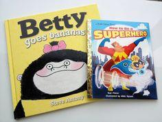 Betty Goes Bananas by Steve Antony