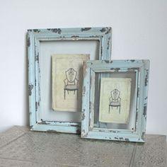 distressed frame