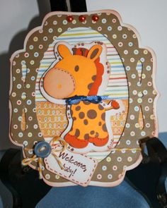 Card Creations by Caroline: Welcome Baby! Art Philosophy