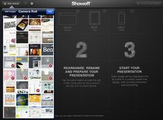Showoff is the ultimate showcase app for your digital design.  Check it out!