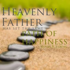 The pathway to happiness is the same for us all. #LDSConf #happy