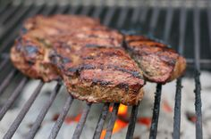 Grilled Bison Sirloin Steak