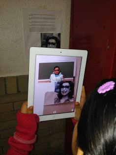 Augmented Reality Biography Projects - iTeach 1:1