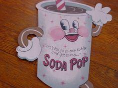 RETRO DRIVE IN MOVIE THEATER SODA POP SIGN Vintage Refreshment Stand Home Decor