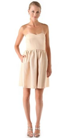 Thread Olivia Strapless Dress.