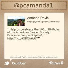 @pcamanda1s Twitter profile courtesy of @Pinstamatic (http://pinstamatic.com)