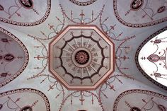 Osterley House - The Grotto Ceiling