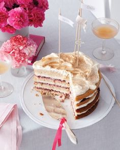 Sugar & Spice Layer Cake, perfect for a night with your girls!