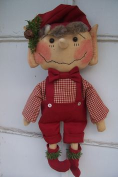 Ernie, handmade in Michigan, using a pattern by Olde Country Cupboard