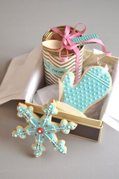 Wrapping ideas for edible gifts.