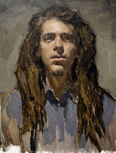 Sean Cheetham Alla Prima2 newer paint, art 1990presentguy, face paint, sean cheetham, male portrait, guy paint, paintings, paint inspir, alla prima