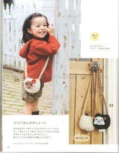Ivelise Feito à Mão: Bolsinha Infantil Em Crochê.....