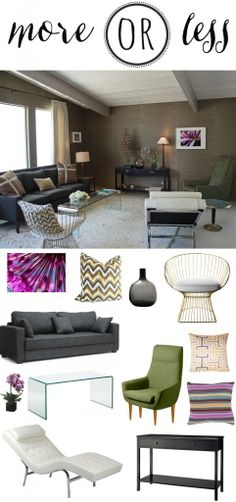 More or Less: Recreating the living room from episode 2 of American Dream Builders
