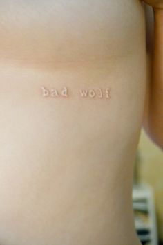 Bad Wolf. Doctor Who