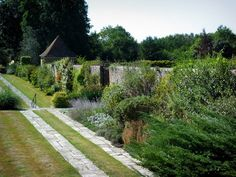 Great Maytham Hall Garden, Kent, England, provided the inspiration for The Secret Garden