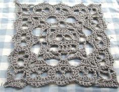 Creepy Granny Skull Infinity Square Crochet Pattern $1.00