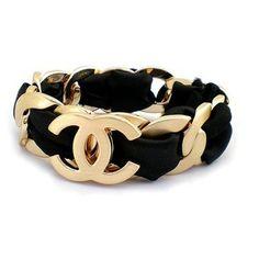 Black & Gold Chanel Bracelet