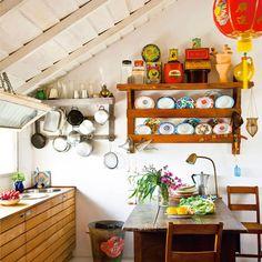 Beach house kitchen!