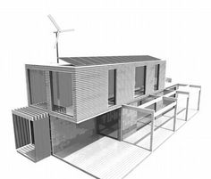awesome container house design