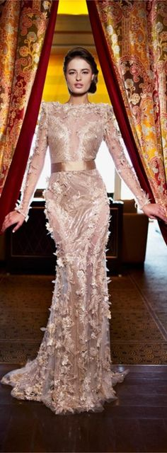 Ziad Nakad Haute Couture gown