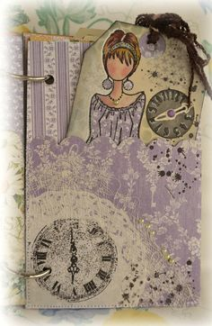 paper craft, cardsgraph 45, paper doll