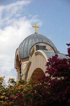 Church of St. Peter in Gallicantu www.ffhl.org #Franciscan #HolyLand