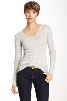 Anita Stripe Long Sleeve Shirt