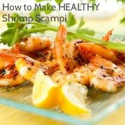 Low Cal, High Protein Shrimp Scampi...YUM! http://www.empowher.com/recipes-amp-cooking/content/shrimp-scampi-low-calories-high-protein