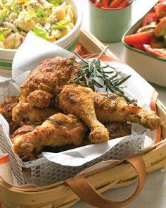 Rosemary Fried Chicken Recipe