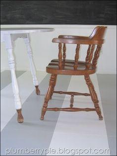 paint subfloor, playroom craft, craft areas, plywood floor, pie, painted floors