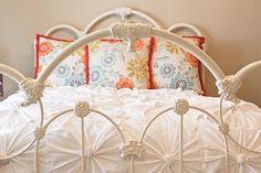 bed frames, inspir knot, guest bedrooms, duvet covers, anthropologie