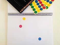Invitation to Create: Sticker Drawings | Childhood 101
