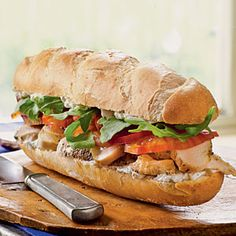 Chicken and Roquefort Sandwiches | CookingLight.com #myplate #protein #vegetables