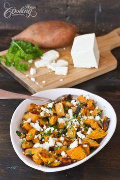 Roasted Sweet Potato Salad- easy summer salad